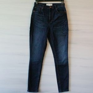 Eighty Two High Waist Skinny Jean Dark Wash